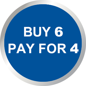 Buy 6, Pay For 4